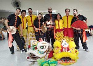 Equipe de Dança do Leão