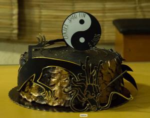 Bolo Câmara Shaolin