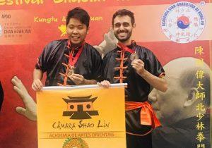 Câmara Shaolin no Festival Shaolin do Norte