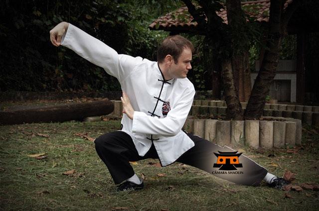 Edgar Gubiotti De Martino, professor de Kung Fu, Tai Chi, Qigong e Sanda