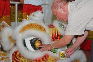 Batismo do Leão da Dança do Leão