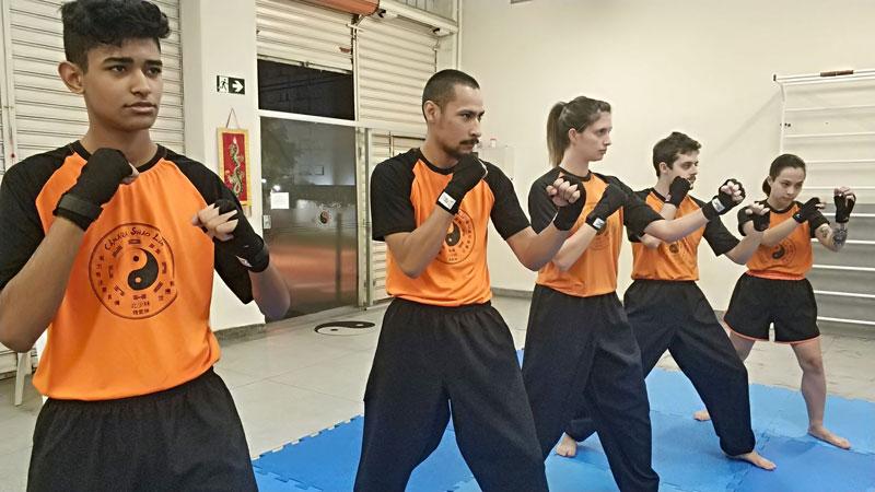 Aula de Sanda - Boxe Chinês