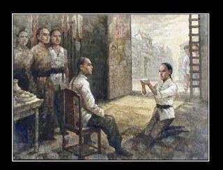 bai si, cerimônia do discipulado das artes marciais