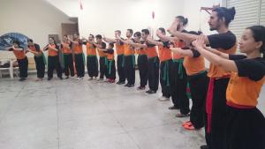 Câmara Shaolin alunos