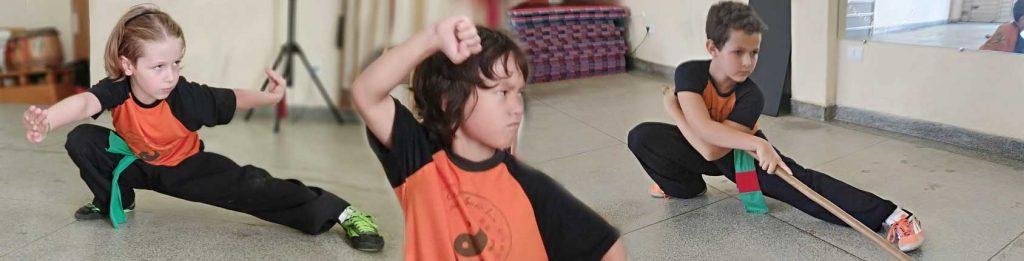 Kung Fu Infantil e Juvenil