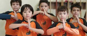 Kung Fu Infantil no Ipiranga